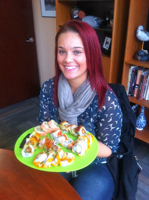New CRC Blog- A Midwesterner's  take on sushi