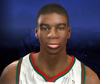 NBA 2K14 Giannis Antetokounmpo Face Mod