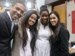 Leonardo Capochim,Miriã,Adriana e Vanessa Capochim.