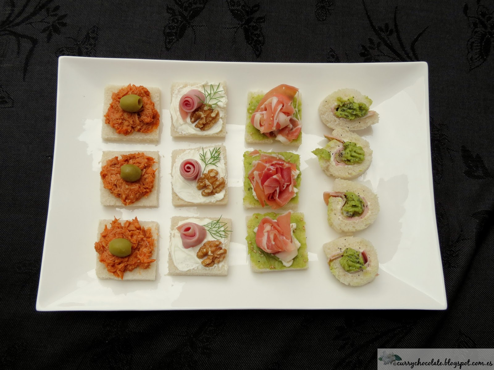Cooking in english o intent ndolo easy canapes part 1 for Canape bases ideas