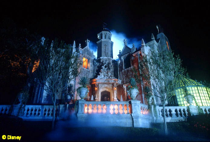 The Haunted Mansion at Walt Disney World