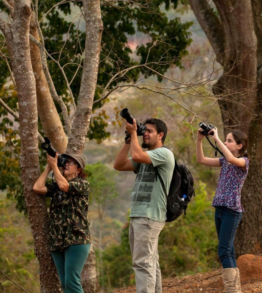 observadors de aves: Foto: Vitor Herdy