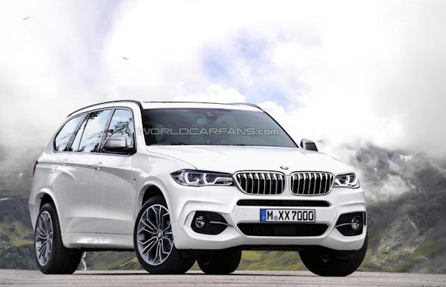 2017 BMW X7 Changes