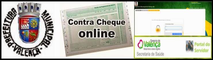 Contra cheque Prefeitura de Valença