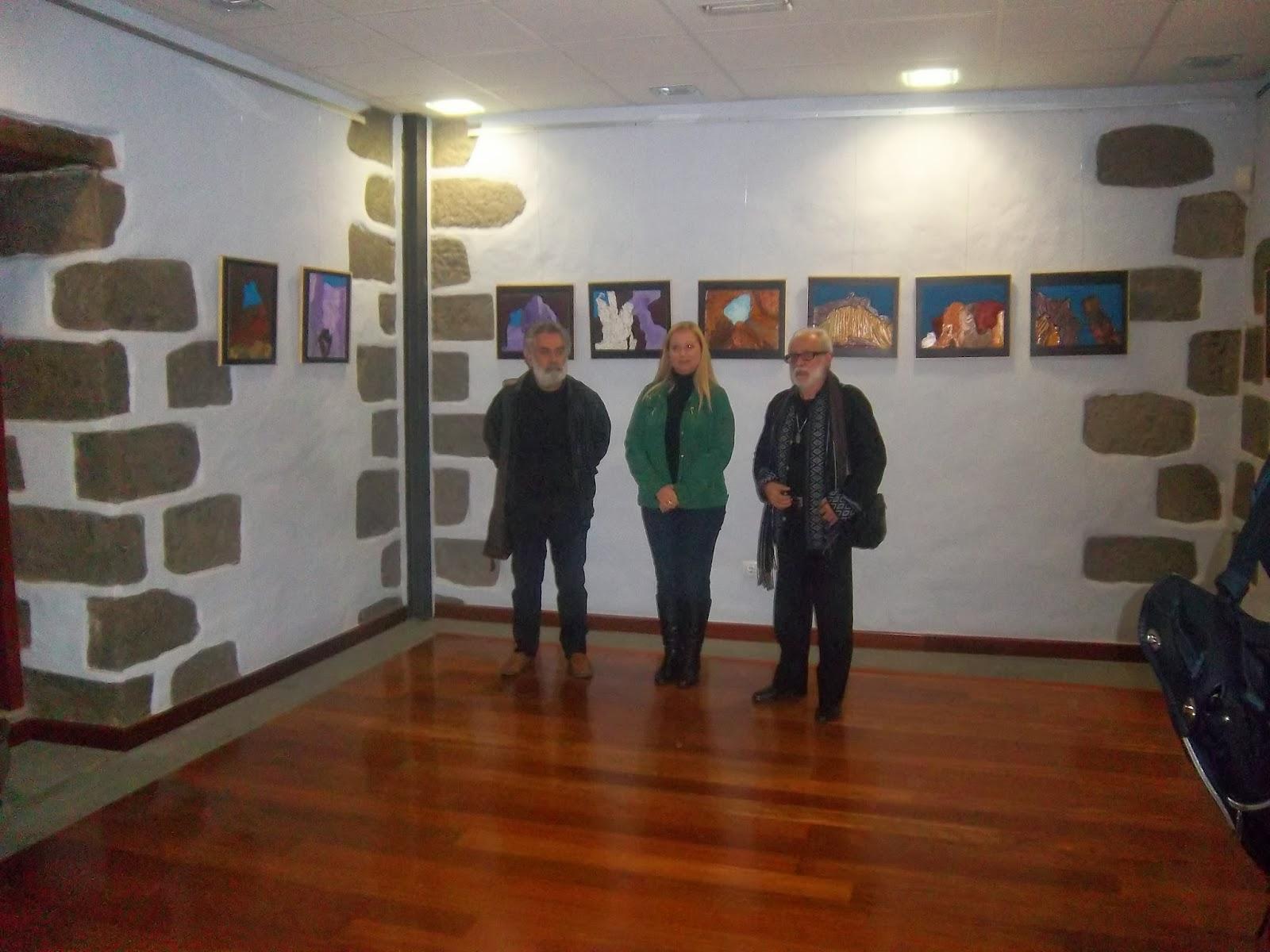 Sala Lola Massieu acoge la exposición  Piso Firme del pintor