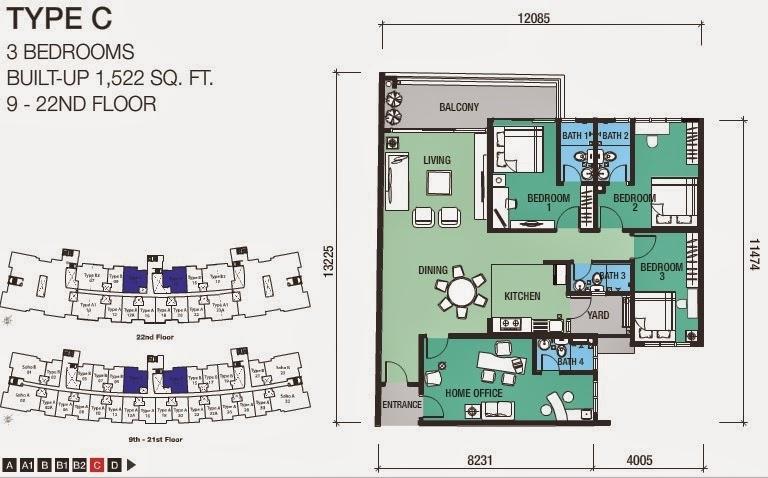 Dk Senza Residence Malaysiacondo