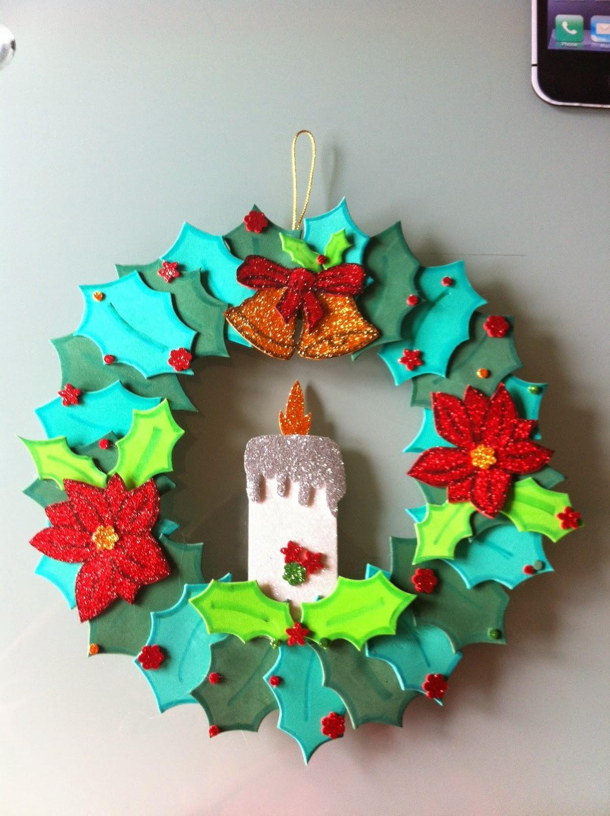 Las yoyifofuchas de tartatuille coronas de navidad - Coronas de navidad ...