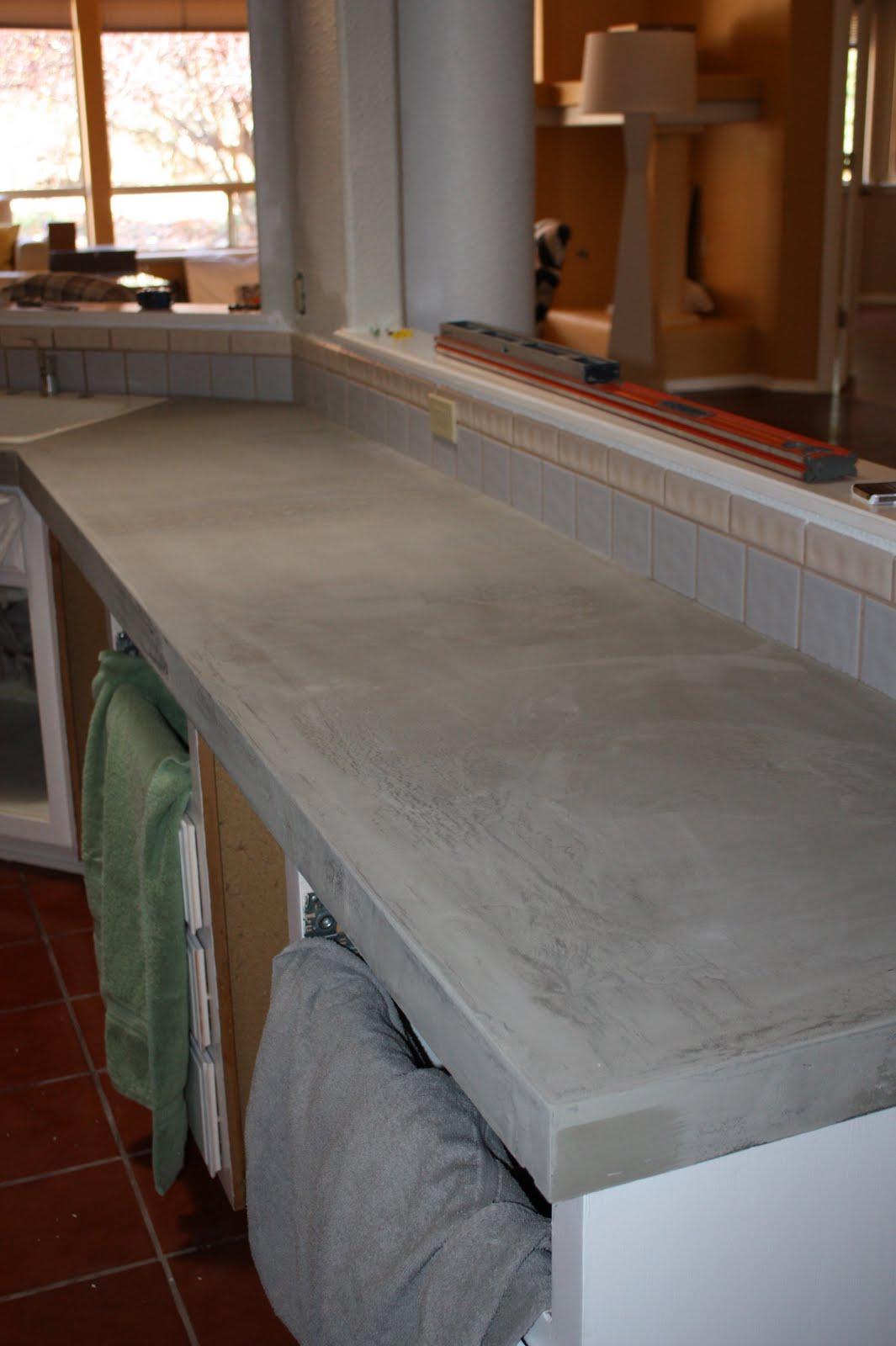 Design stocker concrete countertops for How durable are concrete countertops