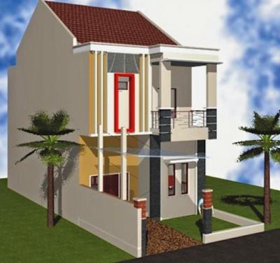 Model rumah minimalis 2 lantai type 36
