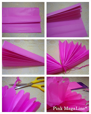 How to Make Party Pom-Poms