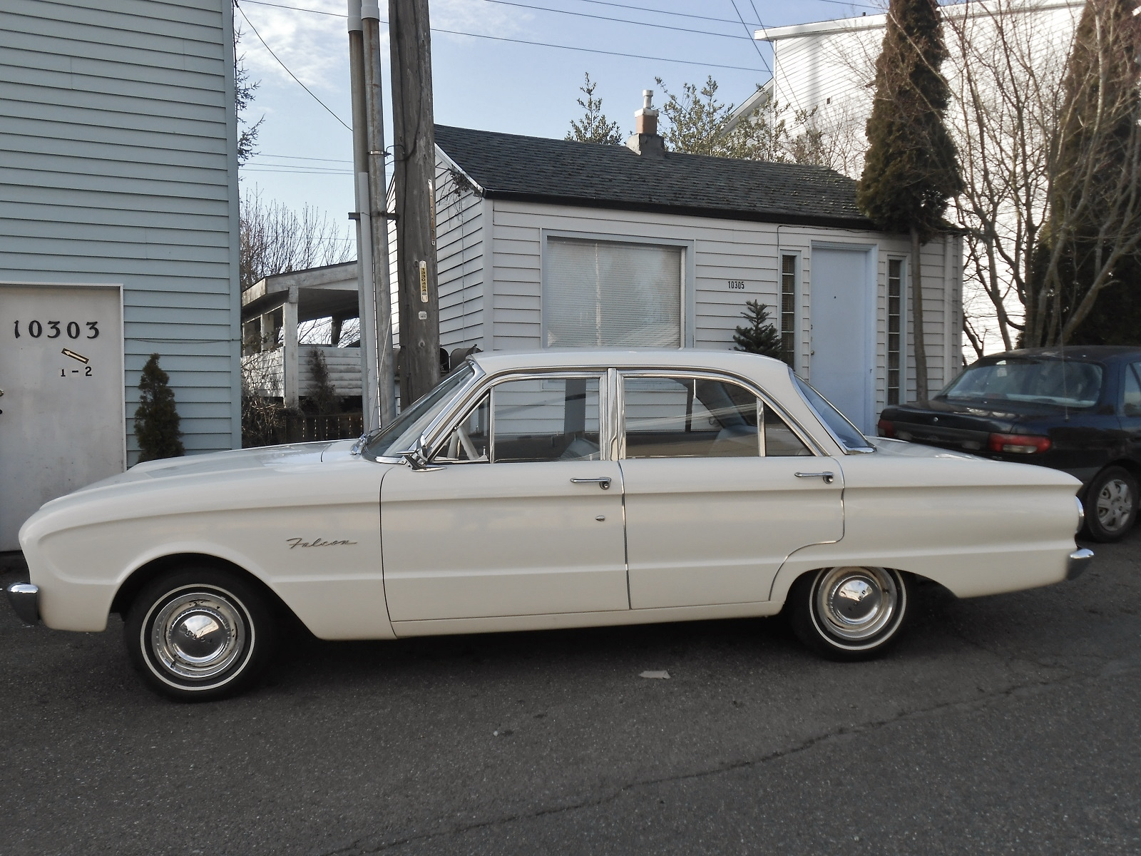 seattle 39 s parked cars 1960 ford falcon. Black Bedroom Furniture Sets. Home Design Ideas