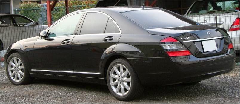Cho thuê xe cưới siêu VIP Mercedes S550  1