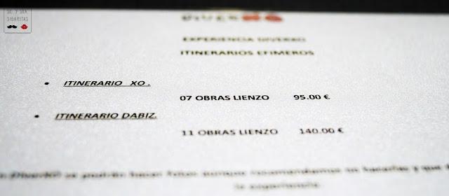 Diverxo Madrid precio