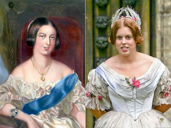 http://speakingofroyals.wordpress.com/2014/07/20/royal-doppelgangers-british-royal-history-edition/