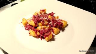 Nhoque de Abóbora com Carne Seca