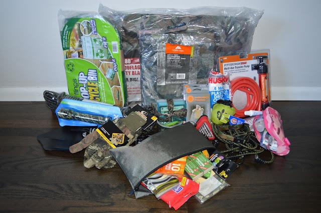 Seattle earthquake kit
