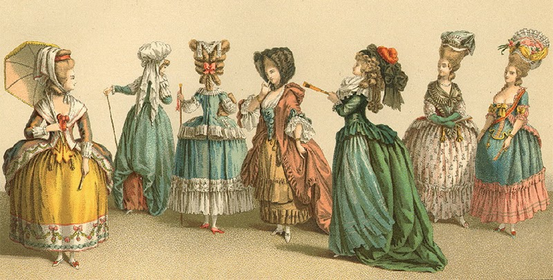 HISTORIA DEL HABITAT: Imgenes moda siglo XIX