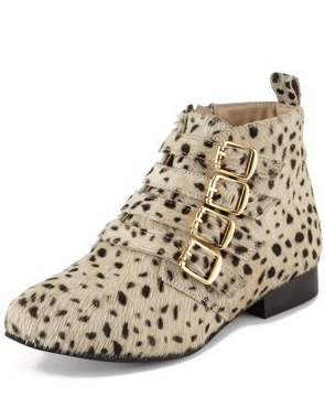 mara animal print boot