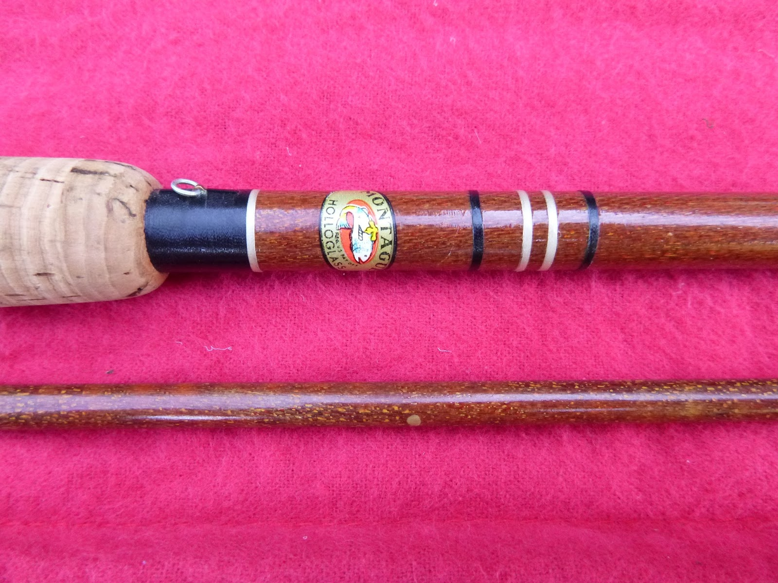 Fly fishing tying obsessed vintage fly rod for Montague fishing rod