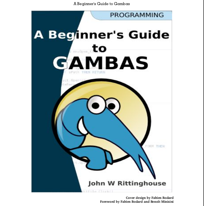 Ebook: A Beginner's Guide to Gambas