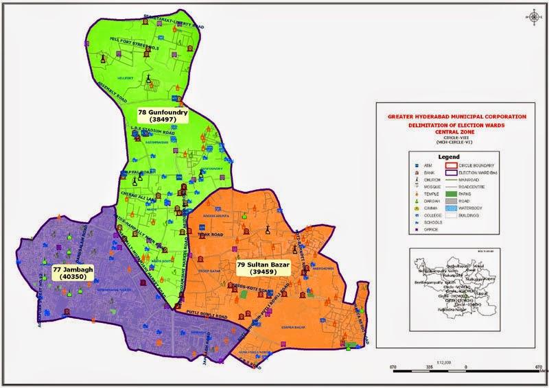 GHMC Circle 8 Map