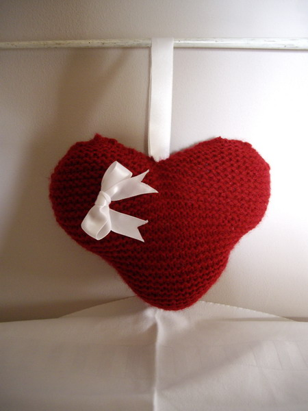 Knitting Patterns Step By Step : Happy Berry Crochet: Free Knitting Heart Pattern - Step by Step