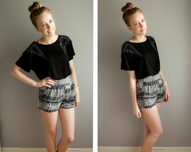 Top H&m / Shorts H&m