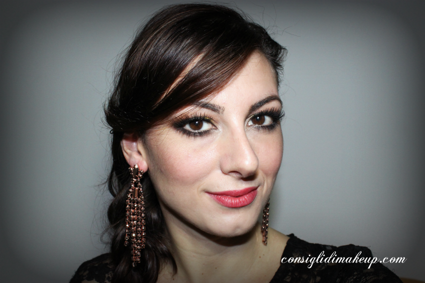 make up con sparkling party palette shiseido  recensione