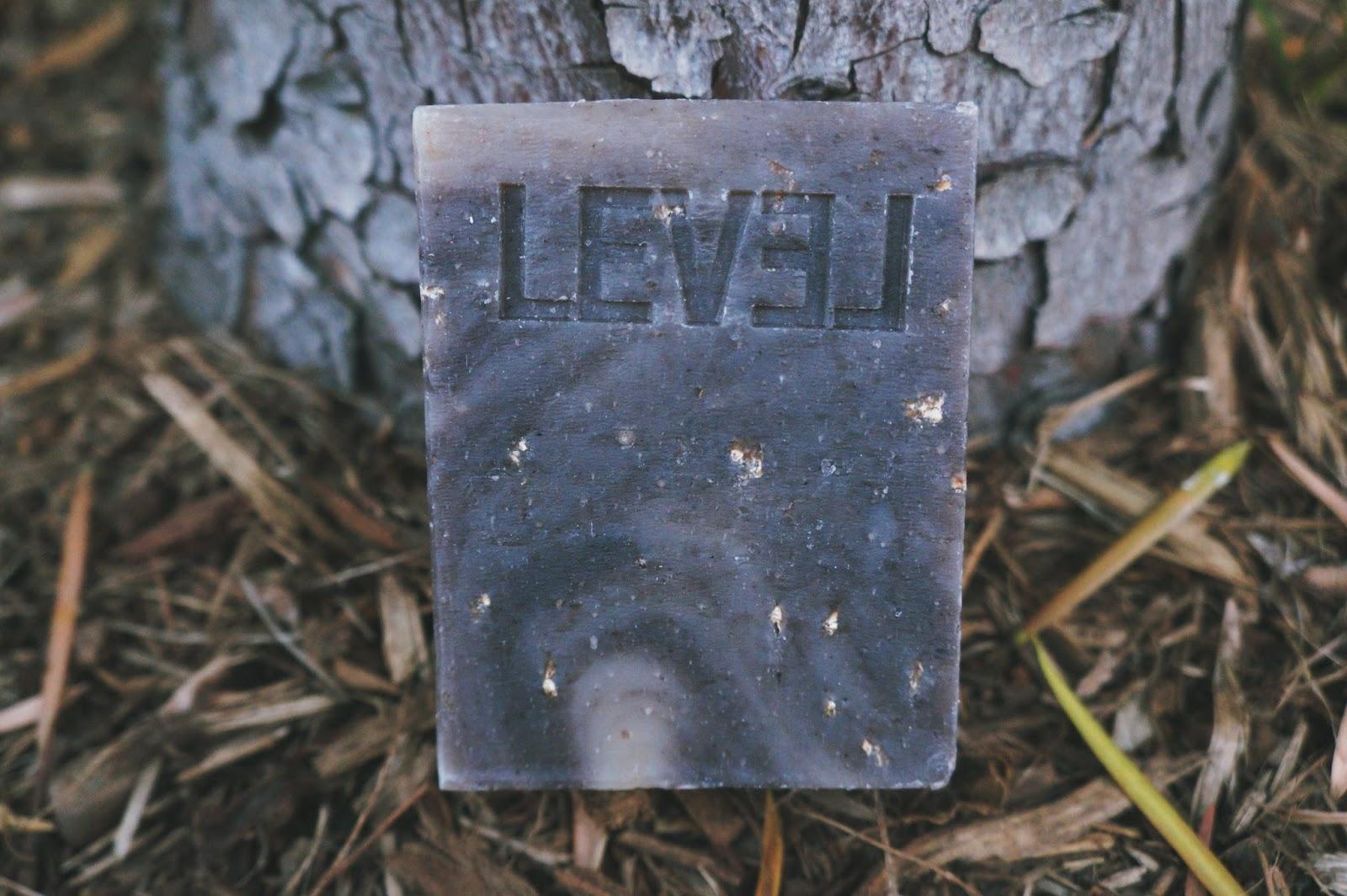 Level Naturals, Vanilla Almond and Oats, Bar Soap