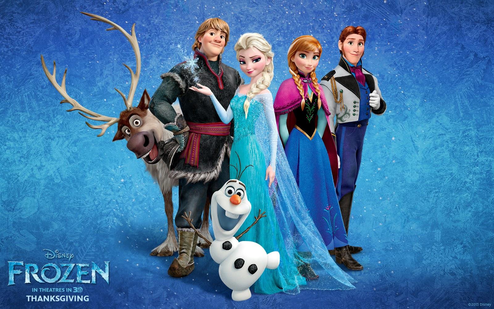 Disney Frozen Movie Characters HD Wallpaper