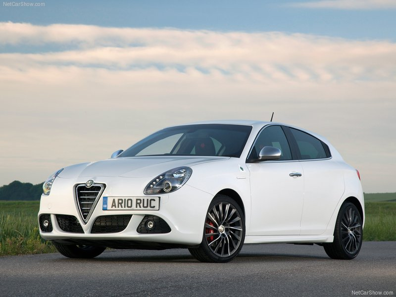 2011 new Alfa Romeo Giulietta