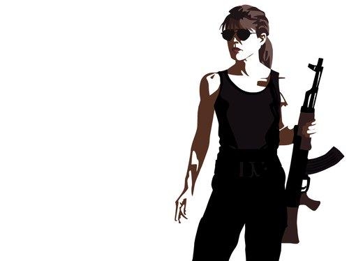 Terminator - Sarah Connor por MauserGirl