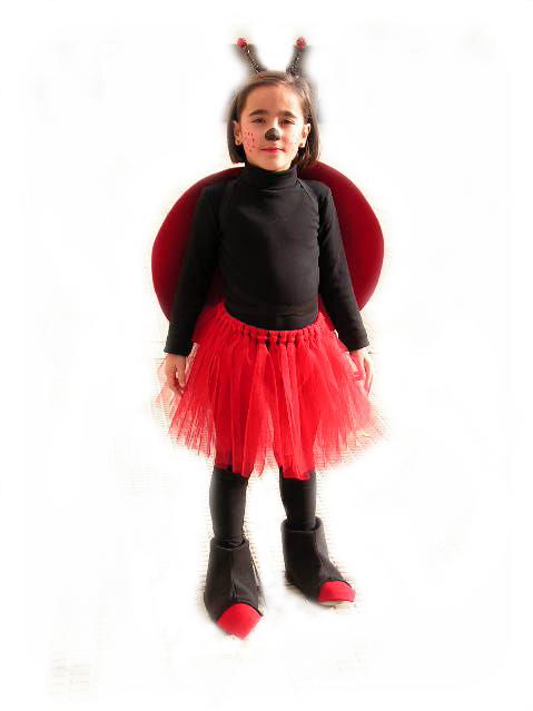 Las cositas de lyra disfraz casero de mariquita - Disfraz de mariquita bebe ...