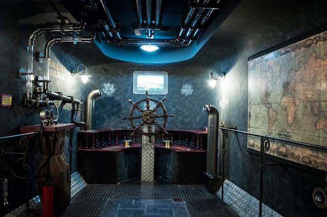 фото квест Клаустрофобия Подводная лодка