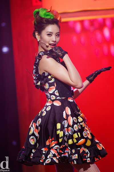 Orange Caramel Nana Catallena Live M! Countdown 140313