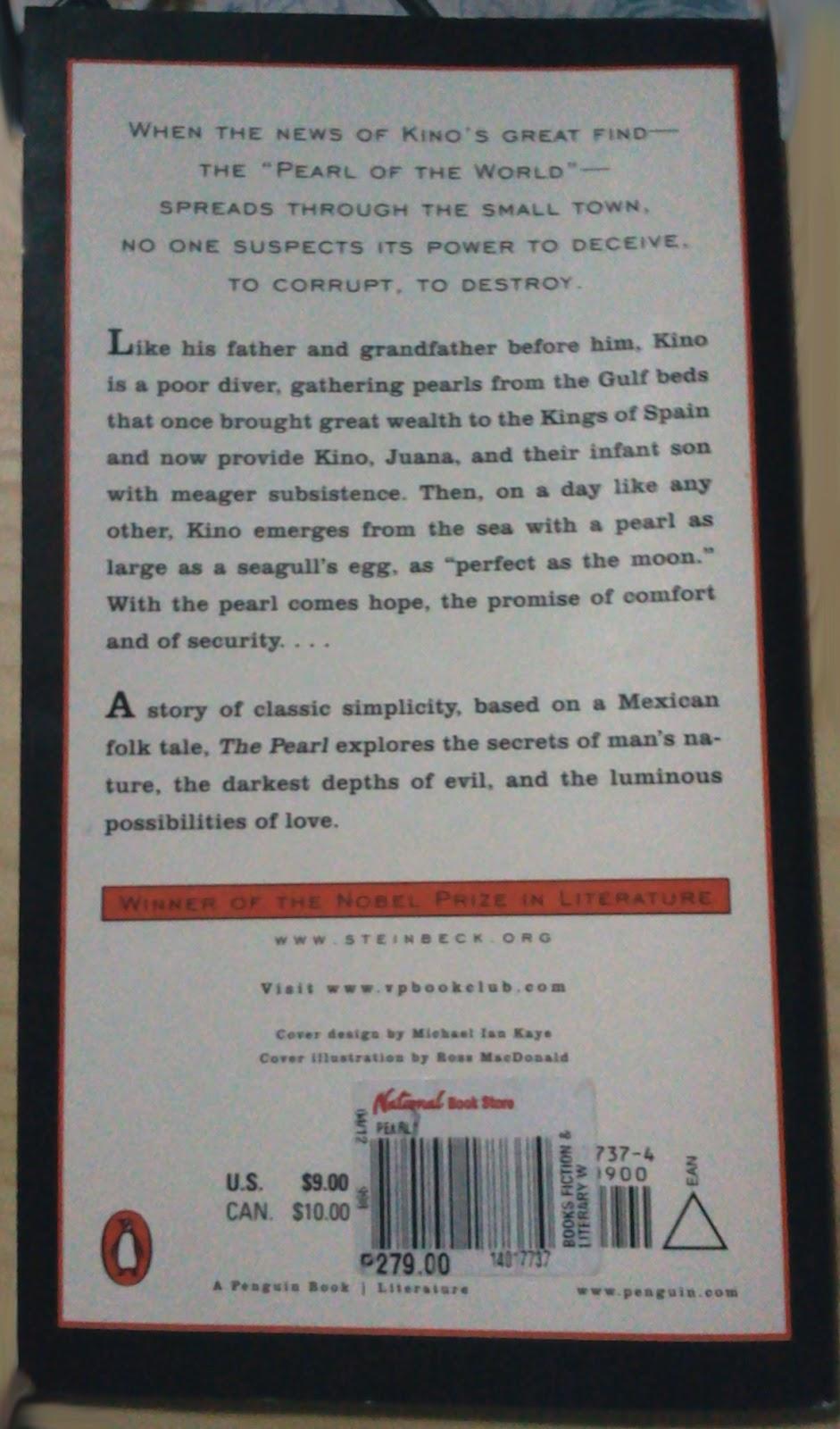 John Steinbeck The Pearl Essay
