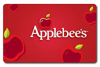 Applebee's GC Giveaway