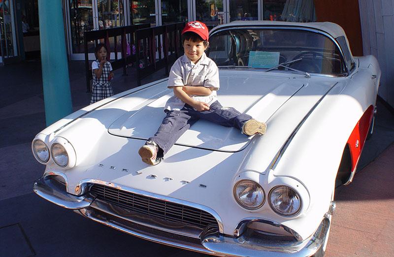C on a Corvette.