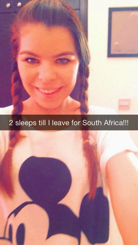 2 Sleeps Left Until SA!!!