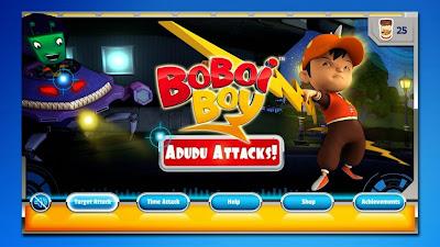 Games Android Baru : BoBoiBoy: Adudu Attacks!