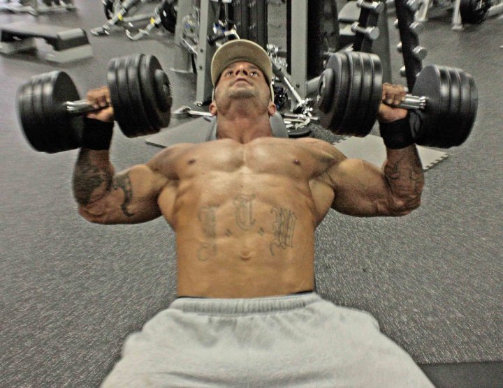 how to lose muscle mass in chest