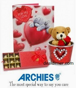 Archies Gifts and Sweets Extra 50% Cashback
