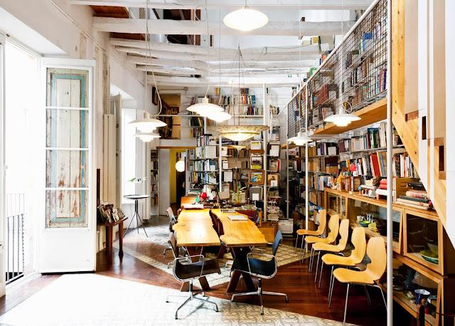 Recacling und Design - bestens vereint in einem Stadthaus in Barcelona