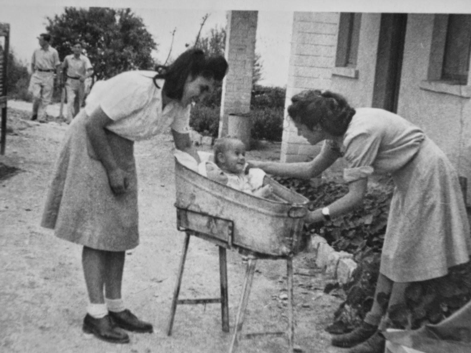 על רקע בית הילדים חניתה שנות ה- 40