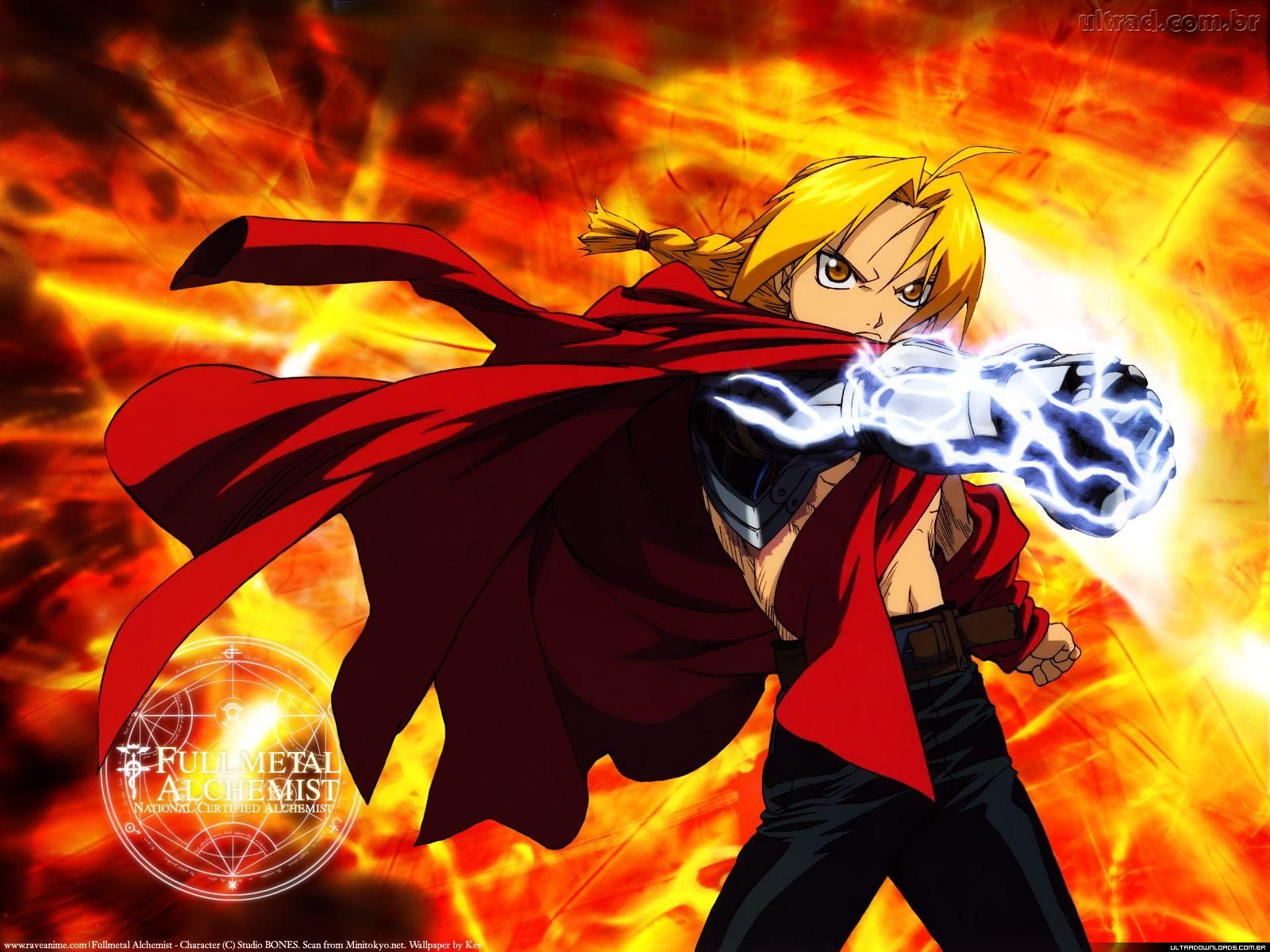 Full Metal Alchemist HD & Widescreen Wallpaper 0.254627039180417