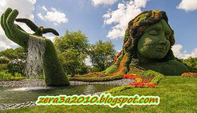 بالصور أجمل تصميمات الحدائق