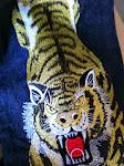 special design evisu tiger jeans size 34