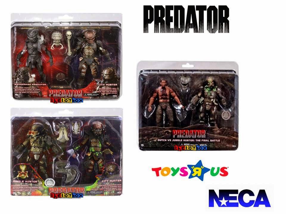 Predator Toys R Us : The toy box predator series neca