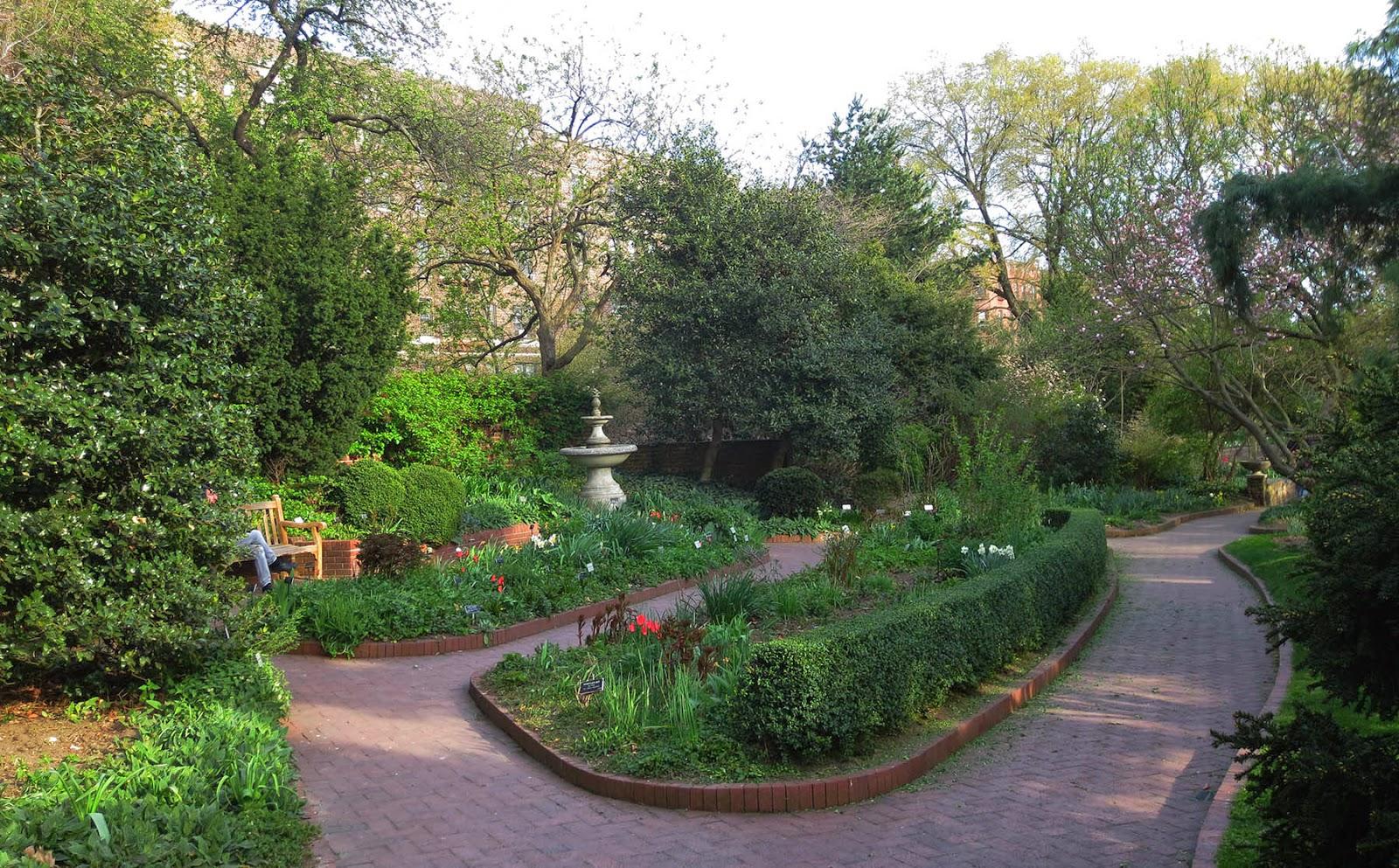 Big Apple Secrets Two Shakespeare Gardens
