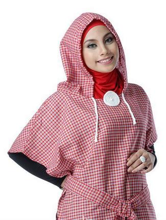 contoh jilbab untuk warna pink bukan artis